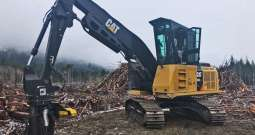 Cat 538 Log Loader – SOLD