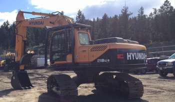 Hyundai 210LC-9 High Walker Excavator full