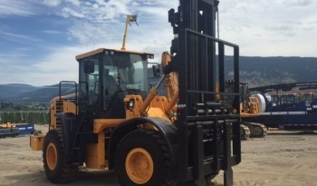 Hyundai HL757TM-9A Rough Terrain Forklift full