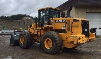 Hyundai HL770-7A Wheel Loader full