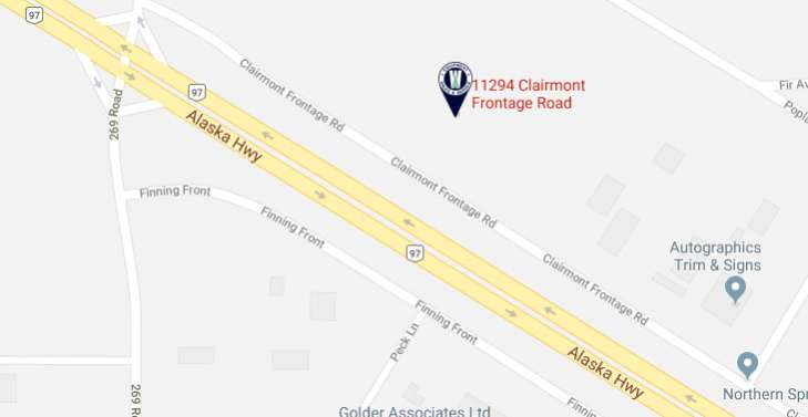 Click for google map to our Kamloops location