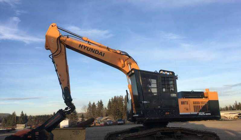 Hyundai R3026LC-9A Processor full
